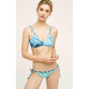 New Anthropologie SAHA Ombre Strappy Bikini Bottom